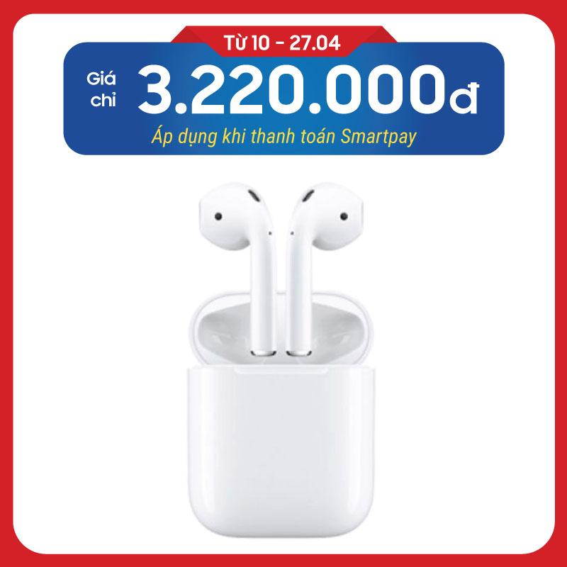 Tai nghe Apple AirPods 2 chính hãng (VN/A) (No Wireless Charge)