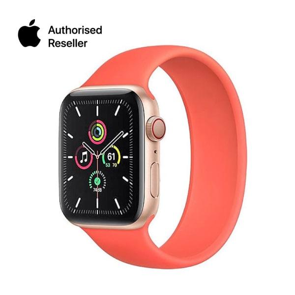 Apple Watch Series 6 40mm (GPS) viền nhôm vàng - Dây cao su Chính Hãng
