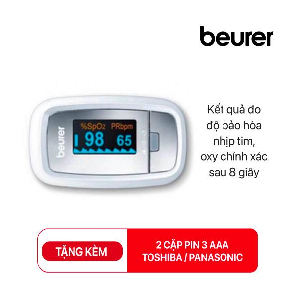 Máy đo nồng độ Oxy SpO2 BEURER PO30