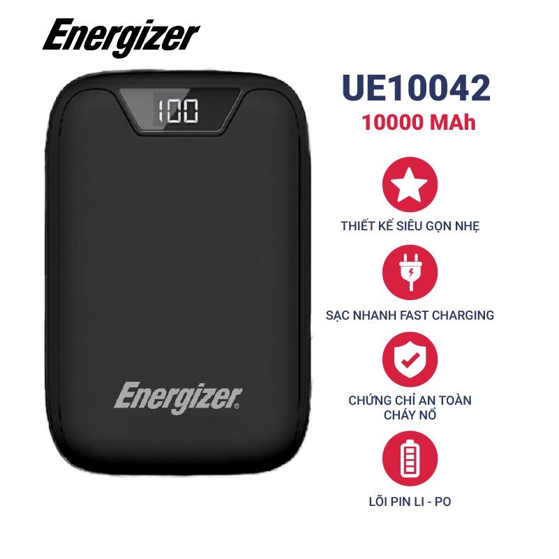 Pin sạc dự phòng Energizer 10.000 mAh - UE10042