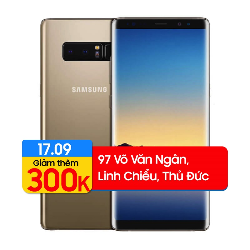Samsung Galaxy Note 8 SM-N950 64GB (Bản Hàn) (Like New)