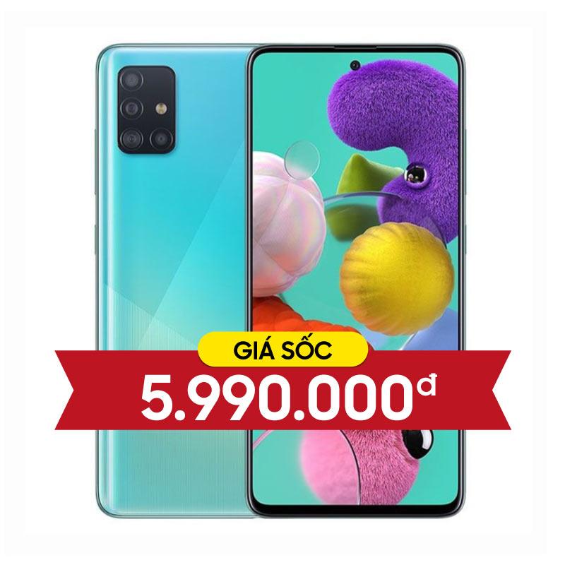 Samsung Galaxy A51 (6GB|128GB) (CTY, BHĐT)