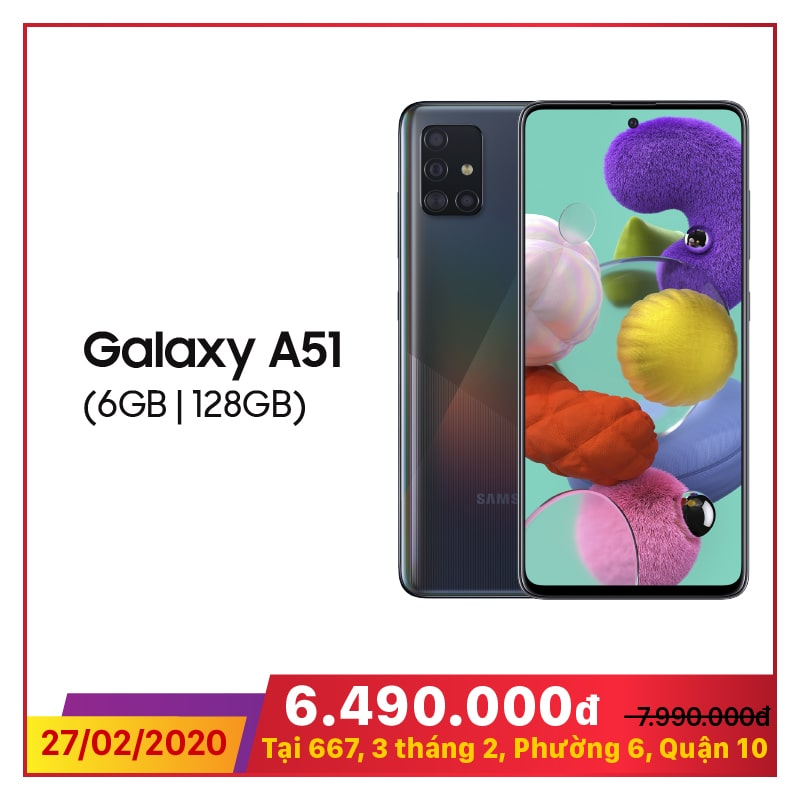Samsung Galaxy A51 (6GB|128GB)