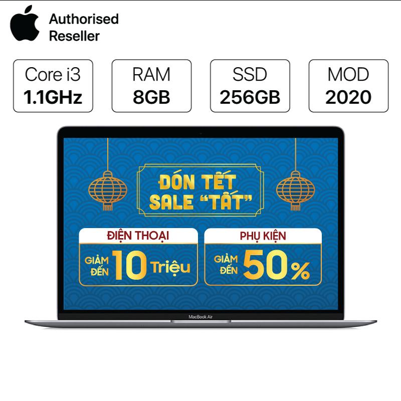 Macbook Air 13 Touch ID Core i3 1.1GHz/8GB/256GB (2020) Chính hãng (Full VAT)