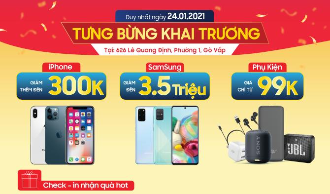 Hotsale giá sốc Tại 626 Lê Quang Định