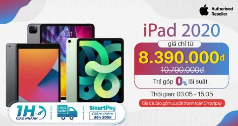 iPad 2020 Giá chỉ từ 8,5 triệu