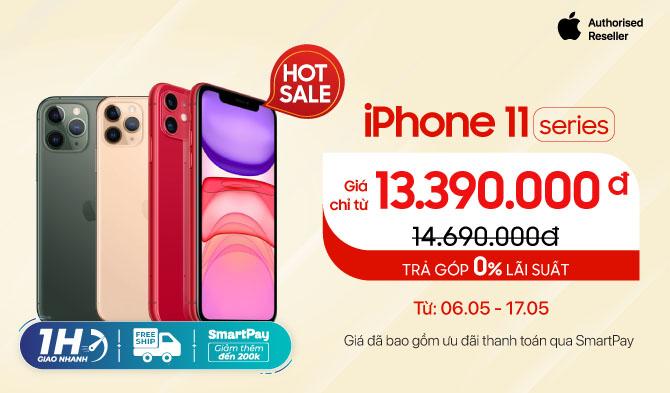 Khuyến Mãi iPhone 11 giá chỉ từ 13 triệu