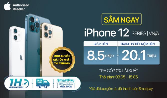 Mua ngay iPhone 12 Nhiều ưu đãi hấp dẫn