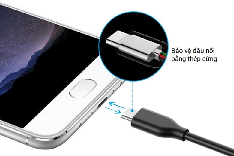 Dây cáp sạc Anker USB-C to USB 3.0 (3ft/0.9m)