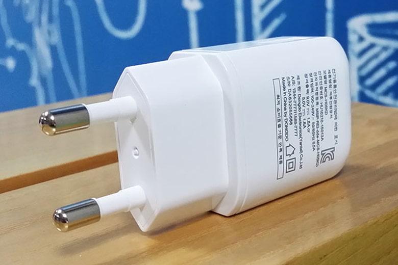 Adapter sạc LG 1.8A chính hãng