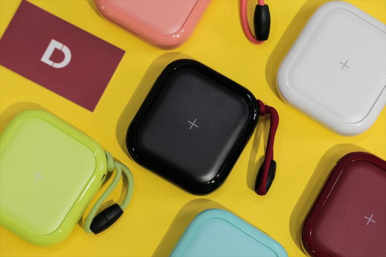 Pin dự phòng kiêm sạc không dây Mipow Power Cube X 10000+
