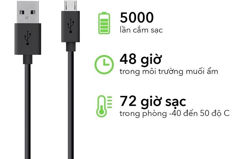 Dây cáp sạc Micro USB Belkin MIXIT F2CU012bt04